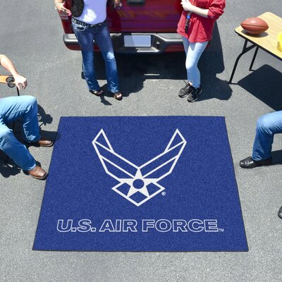 MIL U.S. Air Force Doormat Mat Size: 5 x 6