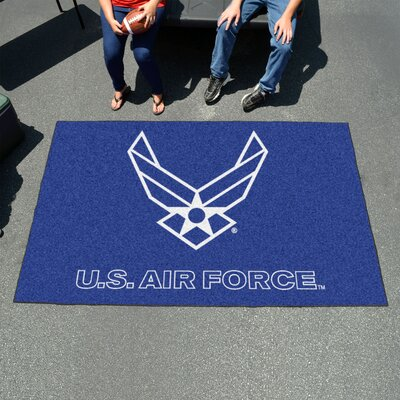 MIL U.S. Air Force Doormat Mat Size: 5 x 8