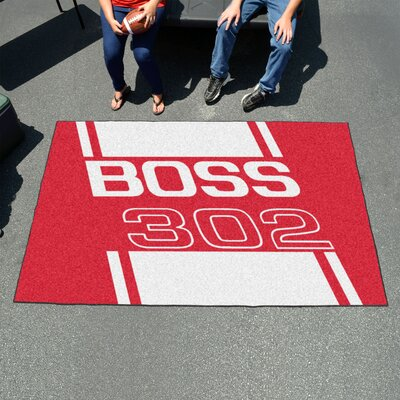 Ford - Boss 302 Doormat Color: Red