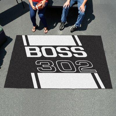 Ford - Boss 302 Doormat Color: Black