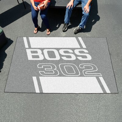Ford - Boss 302 Doormat Color: Gray