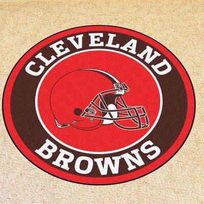 NFL Cleveland Browns Roundel Mat