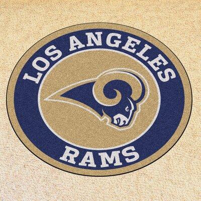NFL Los Angeles Rams Roundel Mat