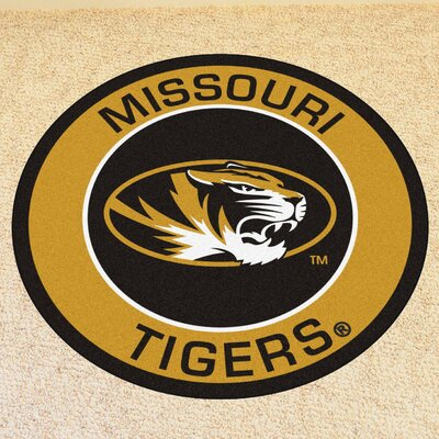 NCAA University of Missouri Roundel Mat