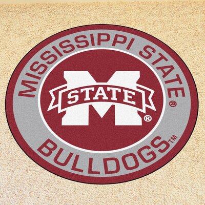 NCAA Mississippi State University Roundel Mat