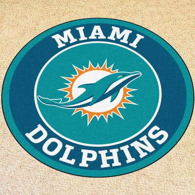 NFL Miami Dolphins Roundel Mat