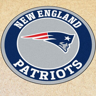 NFL New England Patriots Roundel Mat