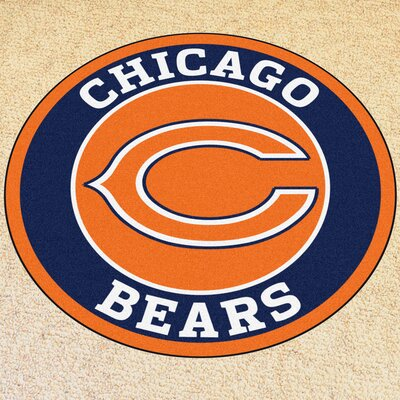 NFL Chicago Bears Roundel Mat