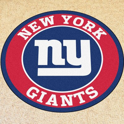 NFL New York Giants Roundel Mat