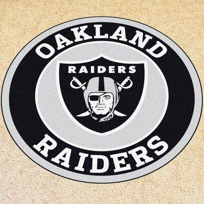 NFL Oakland Raiders Roundel Mat