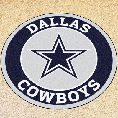 NFL Dallas Cowboys Roundel Mat