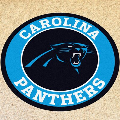 NFL Carolina Panthers Roundel Mat