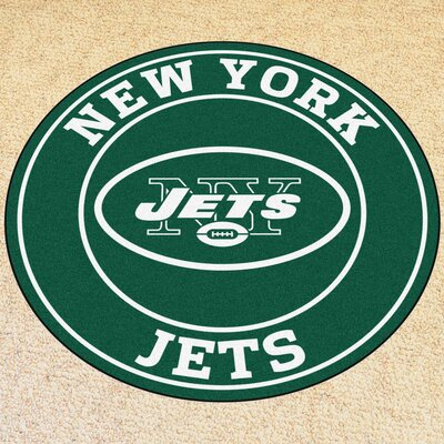 NFL New York Jets Roundel Mat