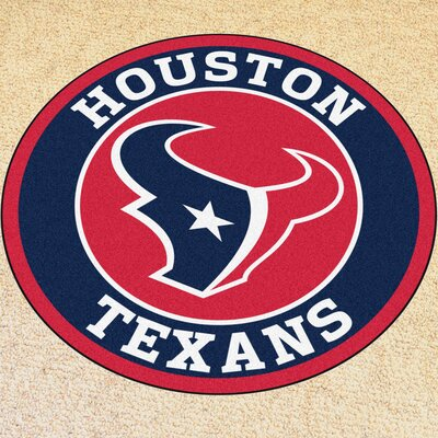 NFL Houston Texans Roundel Mat