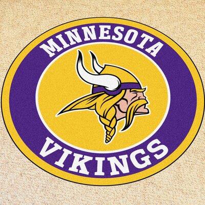 NFL Minnesota Vikings Roundel Mat