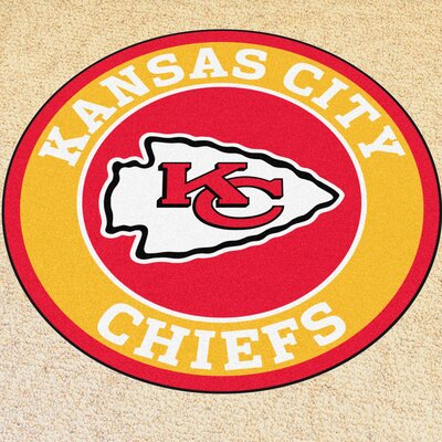 NFL Kansas City Chiefs Roundel Mat
