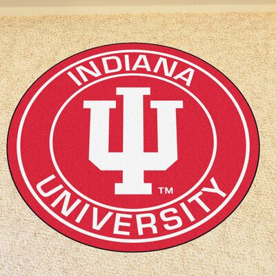 NCAA Indiana University Roundel Mat