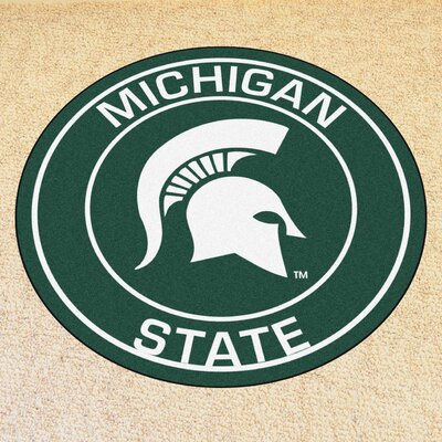 NCAA Michigan State University Roundel Mat