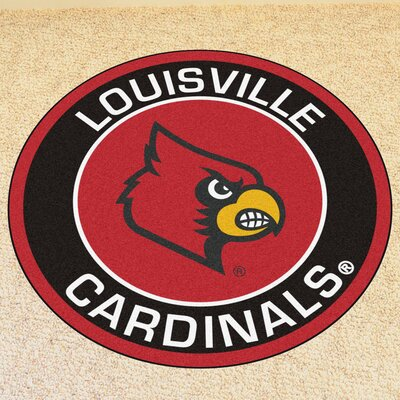 NCAA University of Louisville Roundel Mat