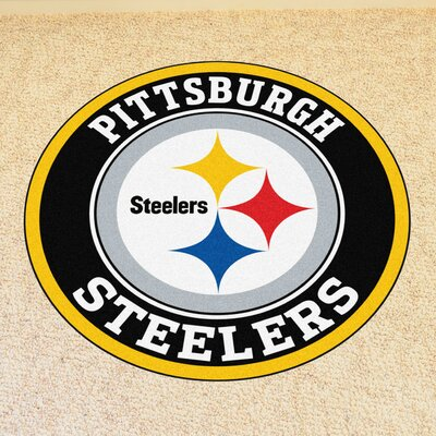 NFL Pittsburgh Steelers Roundel Mat