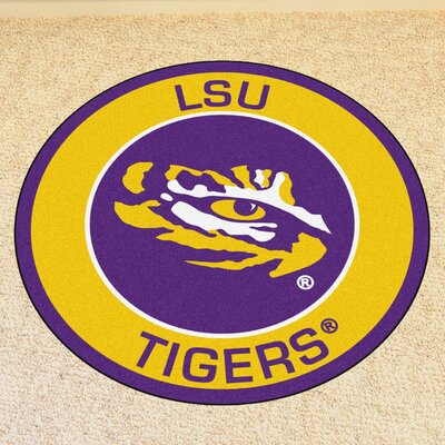 NCAA Louisiana State University Roundel Mat