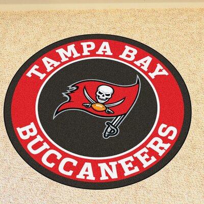 NFL Tampa Bay Buccaneers Roundel Mat