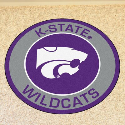 NCAA Kansas State University Roundel Mat