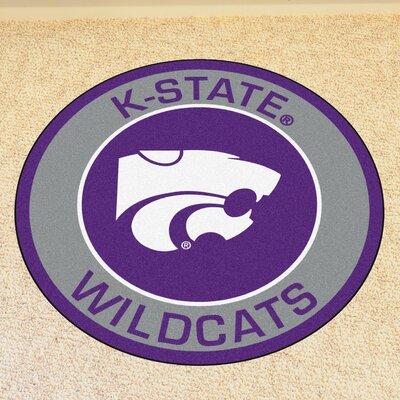 NCAA Kansas State University Roundel Mat