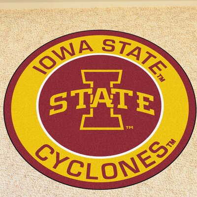 NCAA Iowa State University Roundel Mat