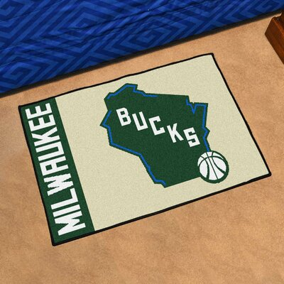 NBA Milwaukee Bucks Starter Mat