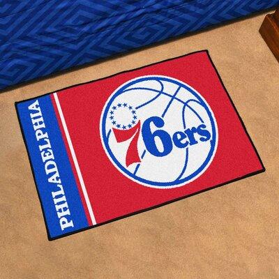NBA Philadelphia 76ers Starter Mat