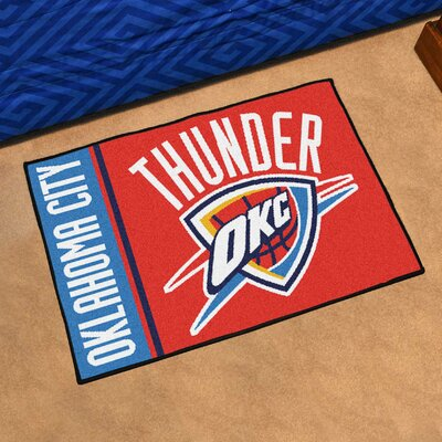 NBA Oklahoma City Thunder Starter Mat