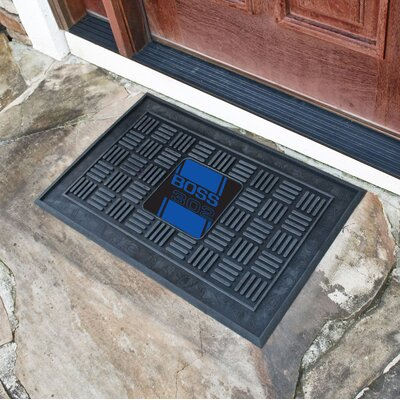 Ford - Boss 302 Medallion Doormat Color: Blue