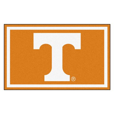NCAA University of Tennessee Rug Rug Size: 5 x 78