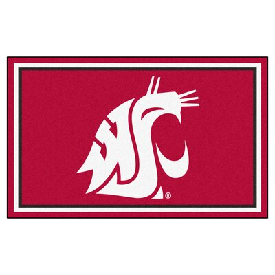 NCAA Washington State University Rug Rug Size: 5 x 78