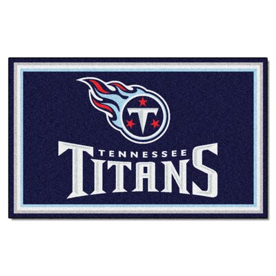 NFL - Tennessee Titans 5x8 Rug Rug Size: 4 x 6