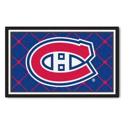 NHL Doormat Rug Size: 310 x 6, NHL: Montreal Canadiens