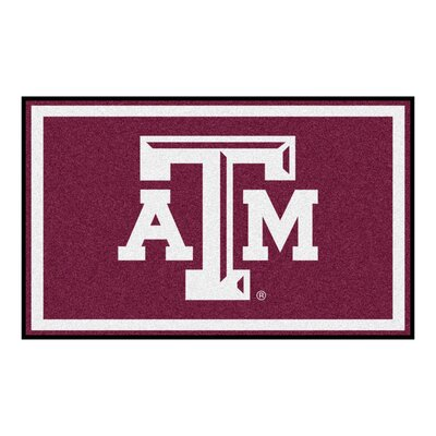 NCAA Texas A&M University Rug Rug Size: 5 x 78
