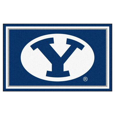 NCAA Brigham Young University Rug Rug Size: 5 x 78