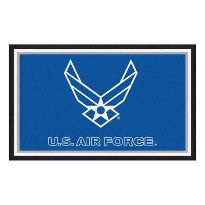 MIL U.S. Air Force Doormat Rug Size: 4 x 6