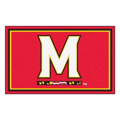 NCAA University of Maryland Rug Rug Size: 310 x 6