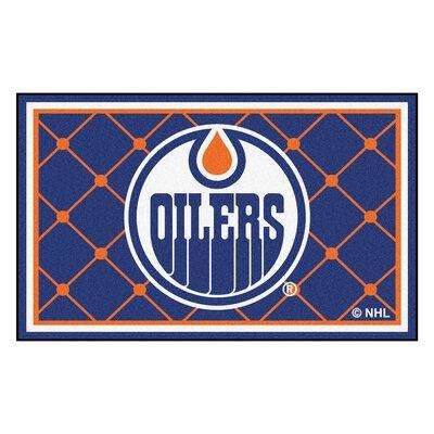 NHL Doormat Rug Size: 5 x 74, NHL: Edmonton Oilers