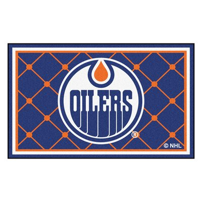 NHL Doormat Mat Size: 5 x 74, NHL: Edmonton Oilers