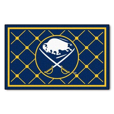 NHL - Buffalo Sabres 5x8 Doormat Mat Size: 5 x 78