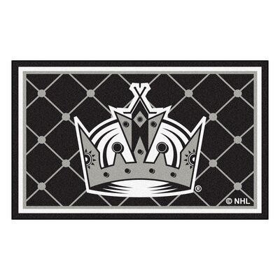 NHL - Los Angeles Kings 5x8 Doormat Mat Size: 310 x 6