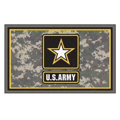 MIL U.S. Army Rug Rug Size: 4 x 6
