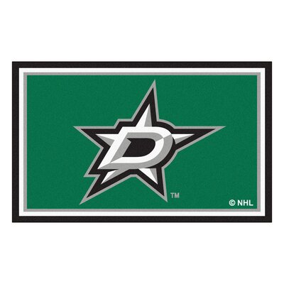 NHL - Dallas Stars 5x8 Doormat Mat Size: 3'10
