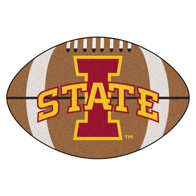 NCAA Iowa State University Football Mat