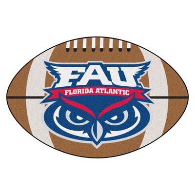 NCAA Florida Atlantic University Football Mat