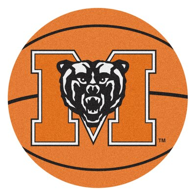 NCAA Mercer University Basketball Mat